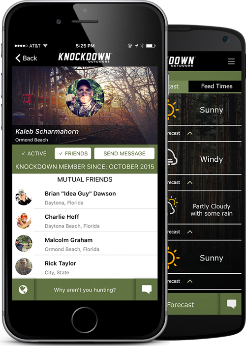 Knockdown Outdoors™ Hunting App for The Hunter