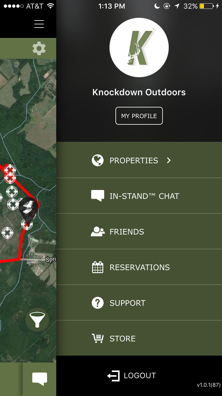 Knockdown Outdoors™ Hunting App